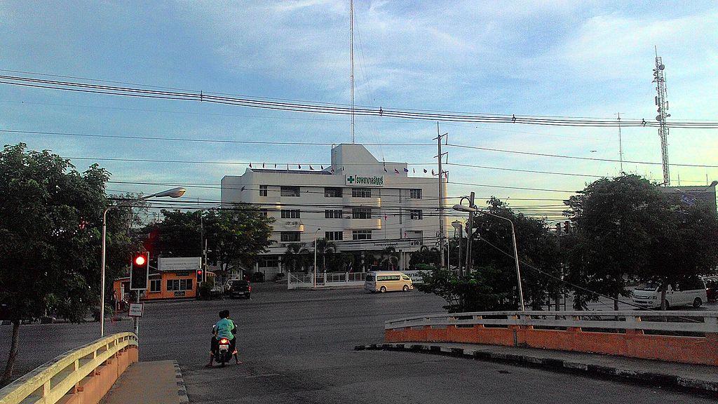 A hospital in Rangsit