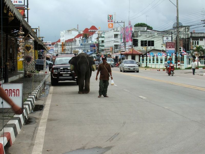 Street in Rayong