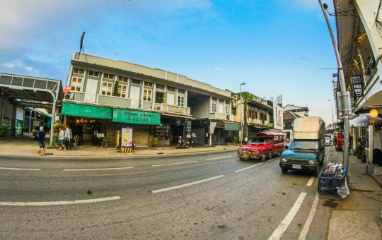 Road in Chiang Mai town