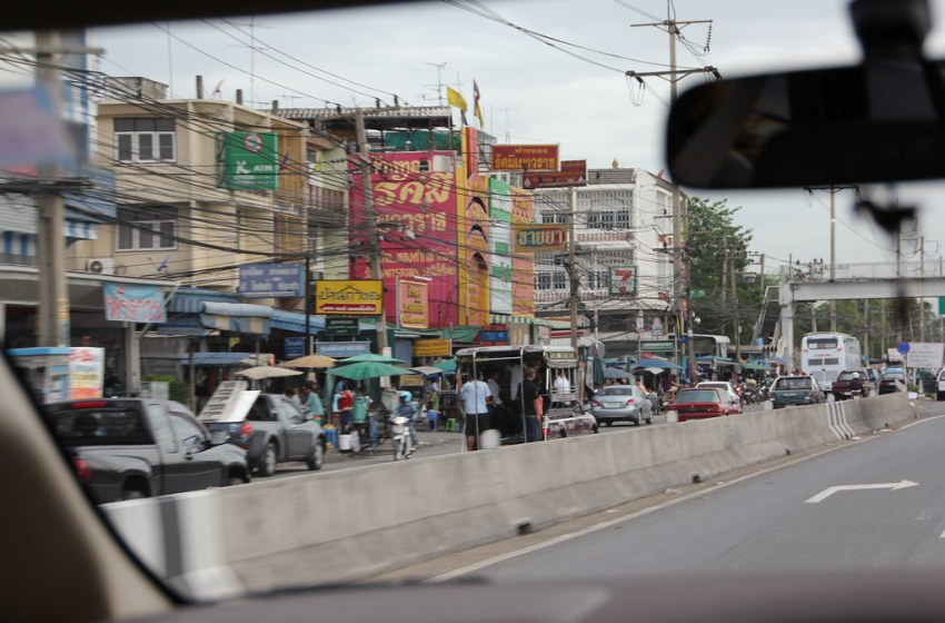 Buddhist Lent Exodus Causes Traffic Congestion