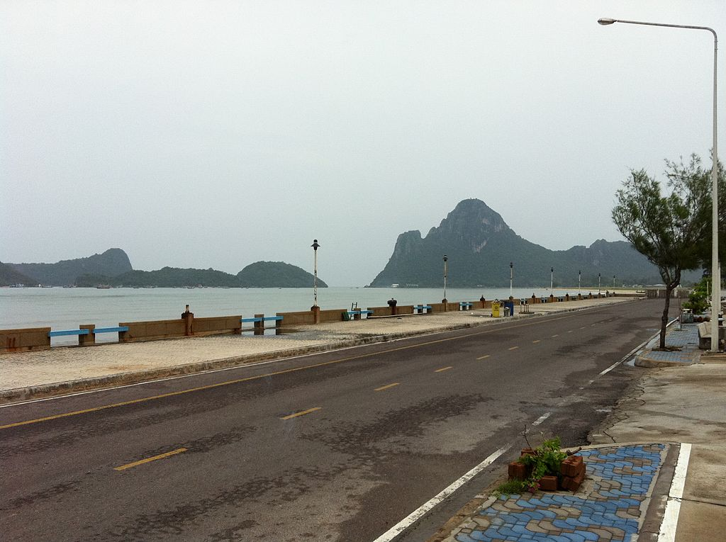 Road in Prachuap Khiri Khan