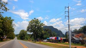 A road in Krabi province