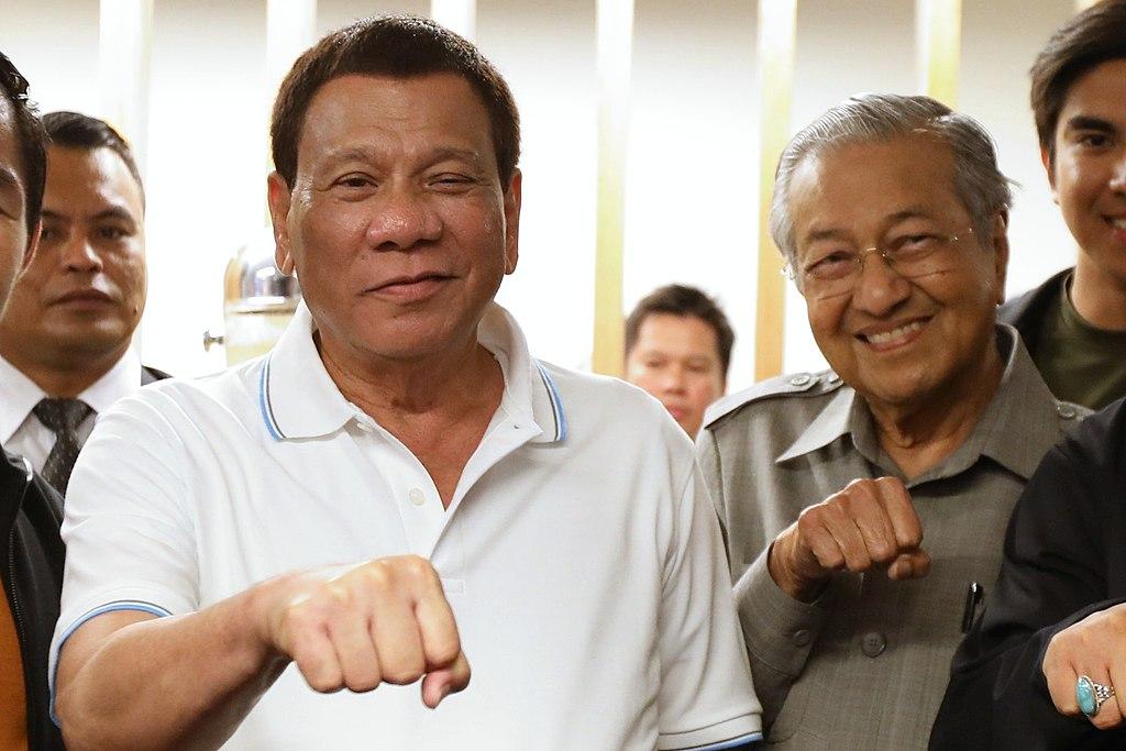 Rodrigo Duterte and Mahathir Mohamad