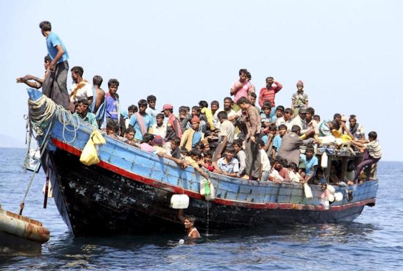 65 Rohingya people found on shore at Koh Rawi, Satun