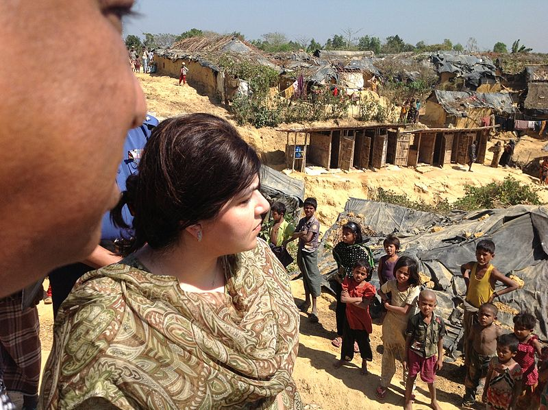 Rohingya Muslims at Cox's Bazaar Refugee Camp in Bangladesh