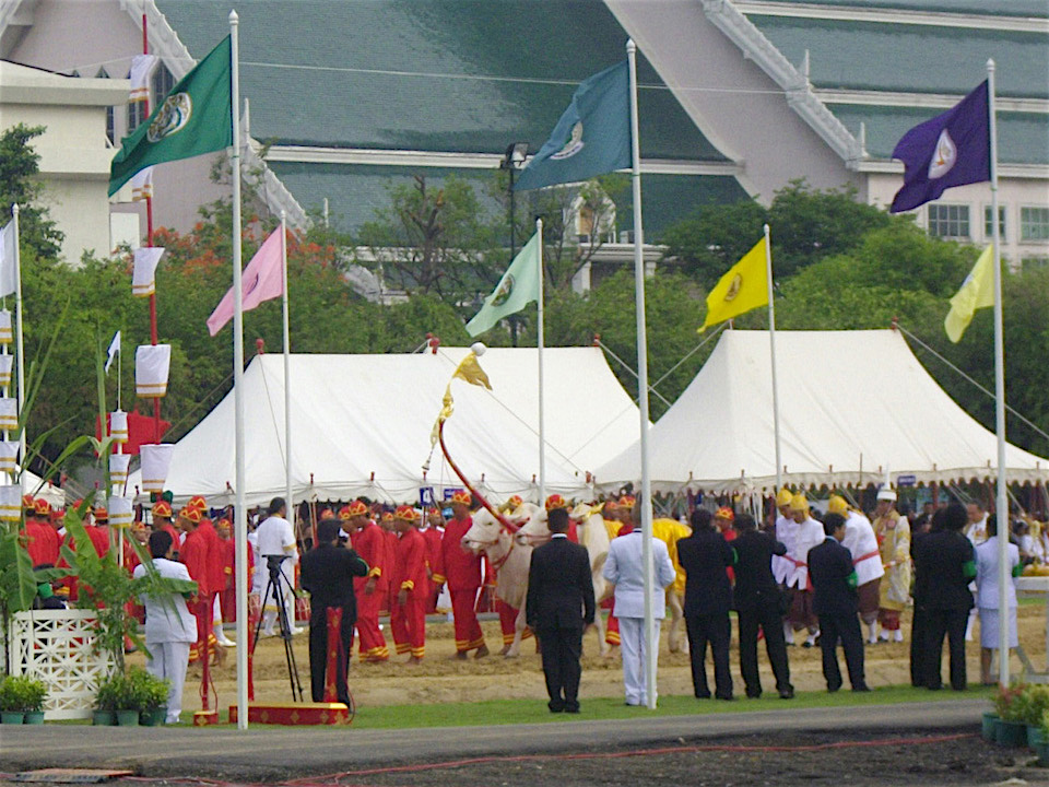 Royal Ploughing Ceremony in Thailand