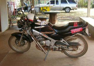 Royal Thai Police Kawasaki motorcycle