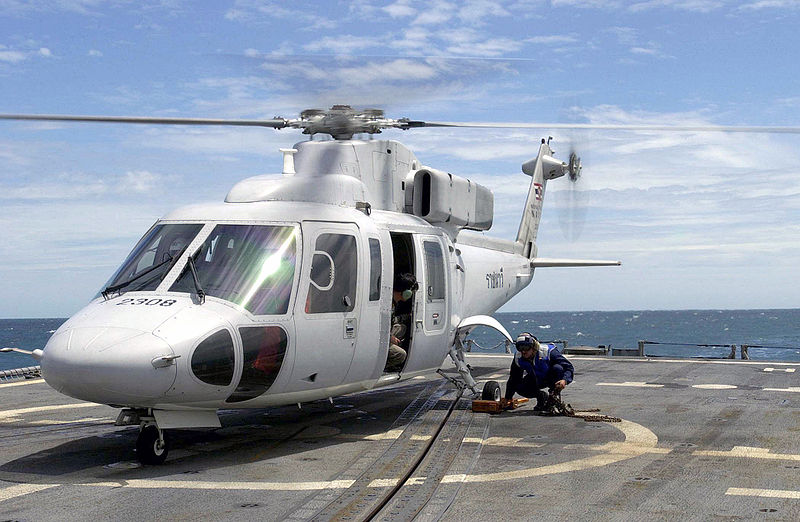 Royal Thai Navy (RTN) Sikorsky S-76B helicopter