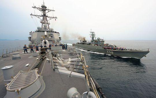 Royal Thai Navy frigate HTMS Bangpakong