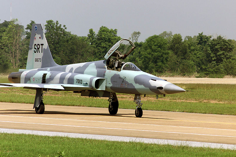 F-5E Royal Thai Air Force in Korat.