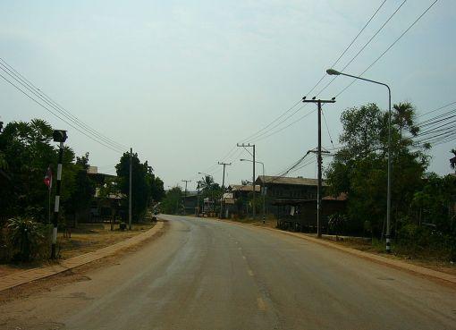 Rural road in Isan