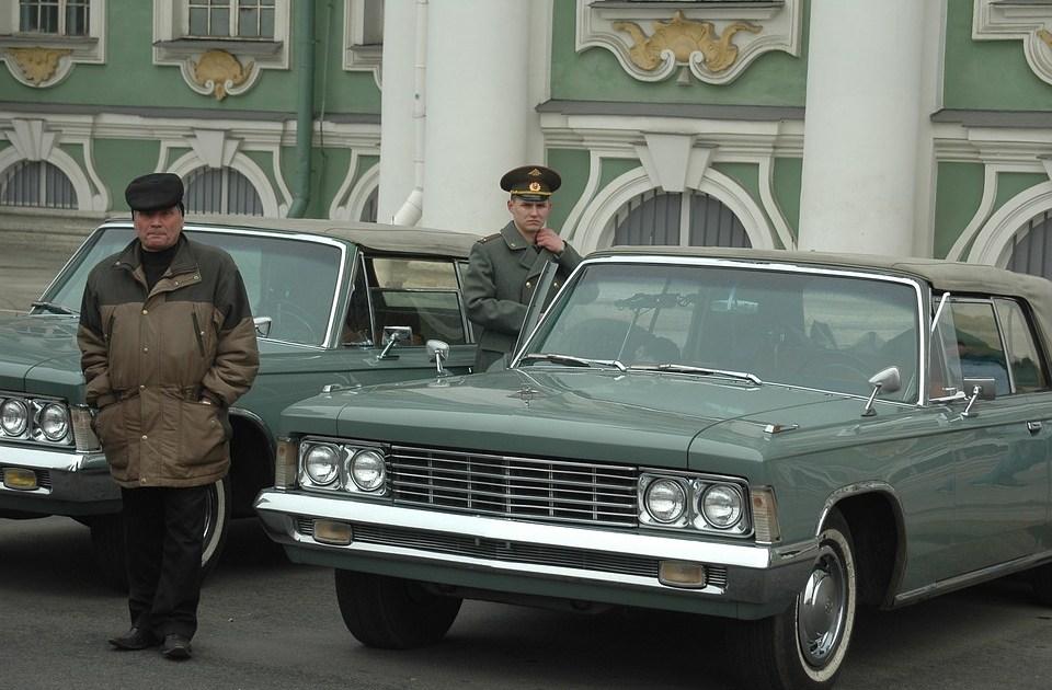 Police in St. Petersburg, Russia