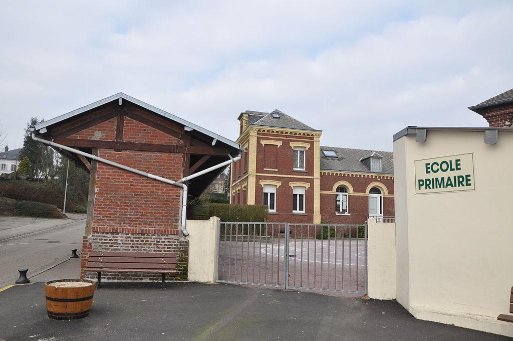 Saint-Aubin Routot school in France