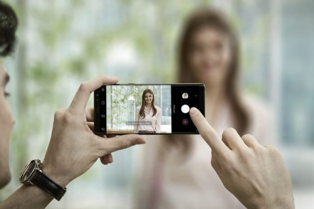 Samsung Galaxy Note 8 Camera Live Focus