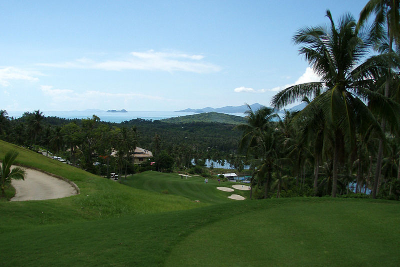 Santiburi Country Club in Koh Samui, Thailand