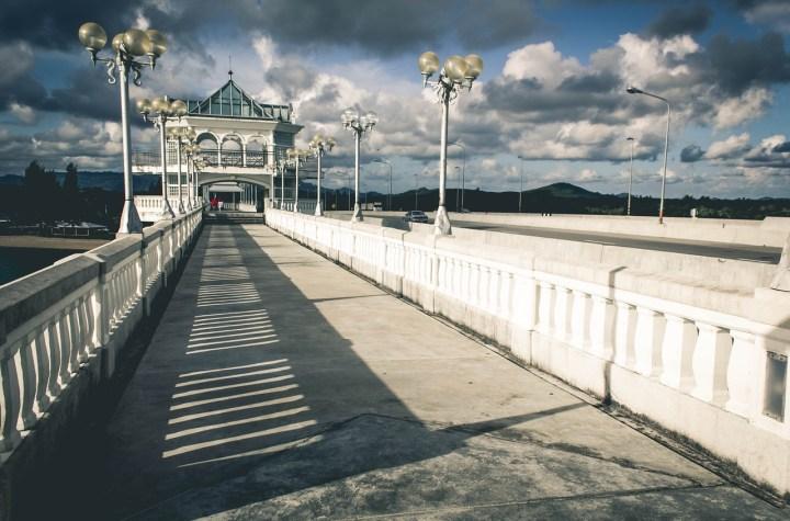 Sarasin Bridge connecting the mainland of Phuket and Phang Nga