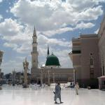 The Prophet Mosque at Al Madinah Province, Medina (Saudi Arabia)