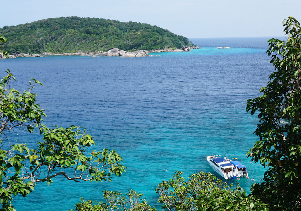 Similan Islands in the Andaman Sea just off the coast of Thailand