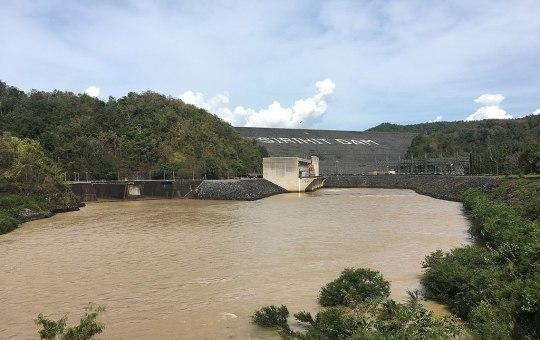 Sirikit Dam in Uttaradit province