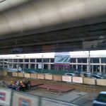 MRT Purple Line under construction in Bangkok