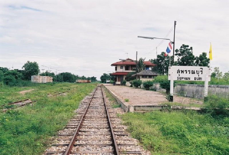 Suphan Buri train station