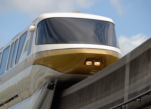Monorail tram train
