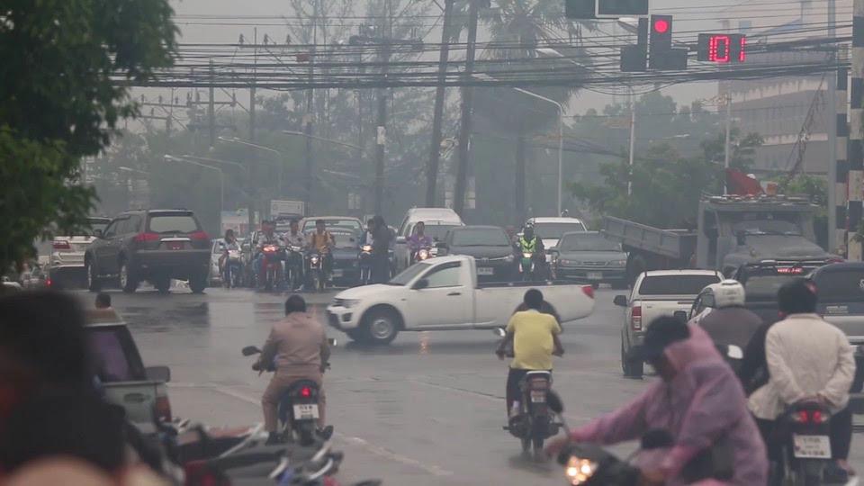 Haze in Thailand