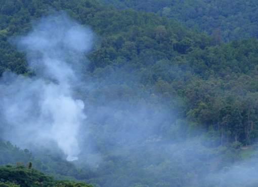Smoke haze crisis in Northern Thailand