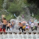 Water Fight during Songkran