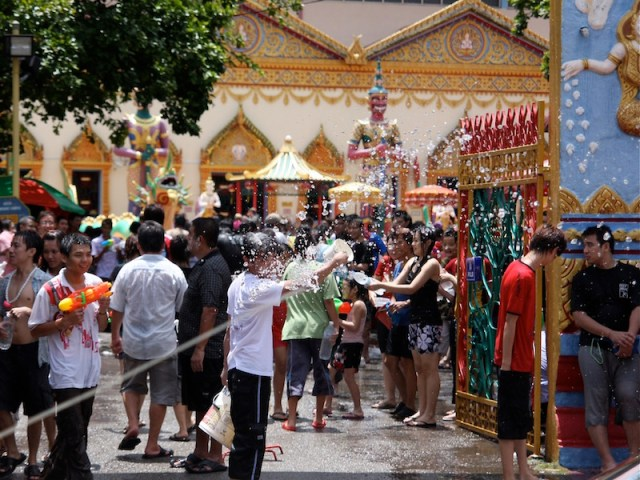 Songkran celebrated in traditional manner this year