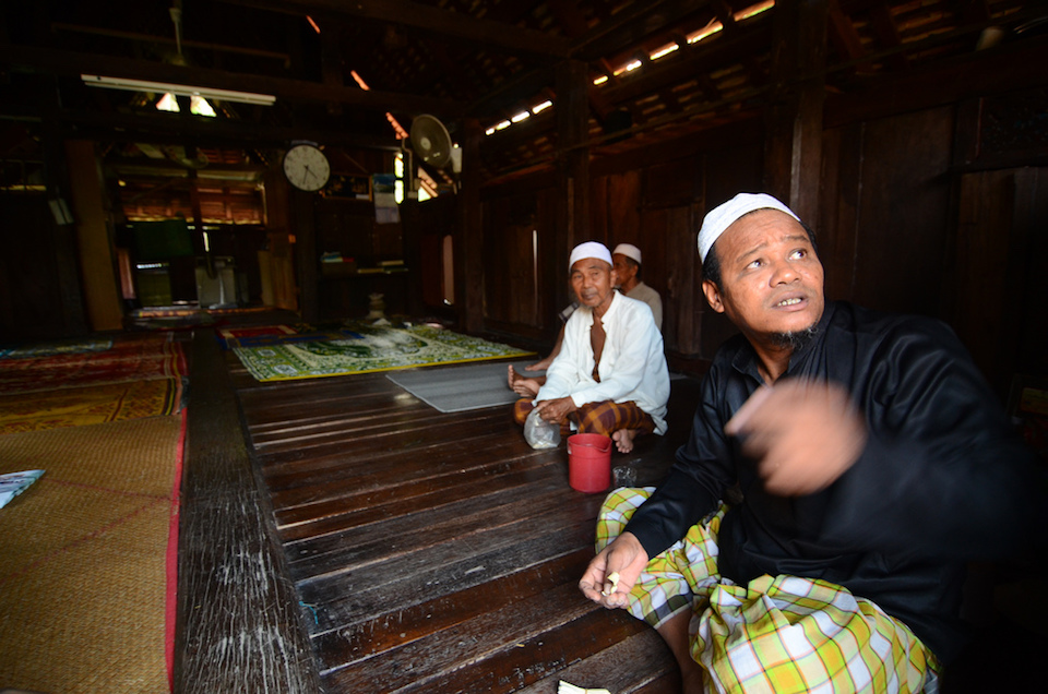 Malay-Muslim men in Pattani