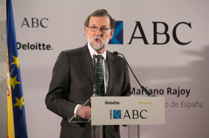 Absolute Majority of Spanish Parl't Supports No-Confidence Motion Against Rajoy