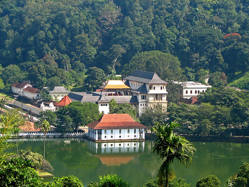 The Temple of the Tooth in Kandy