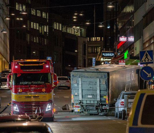 Terrorist attack in Stockholm on April 7, 2017