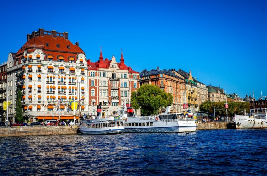 Gamla Stan in Stockholm, Sweden