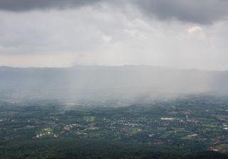 Storm in Sai Thong National Park, Thailand