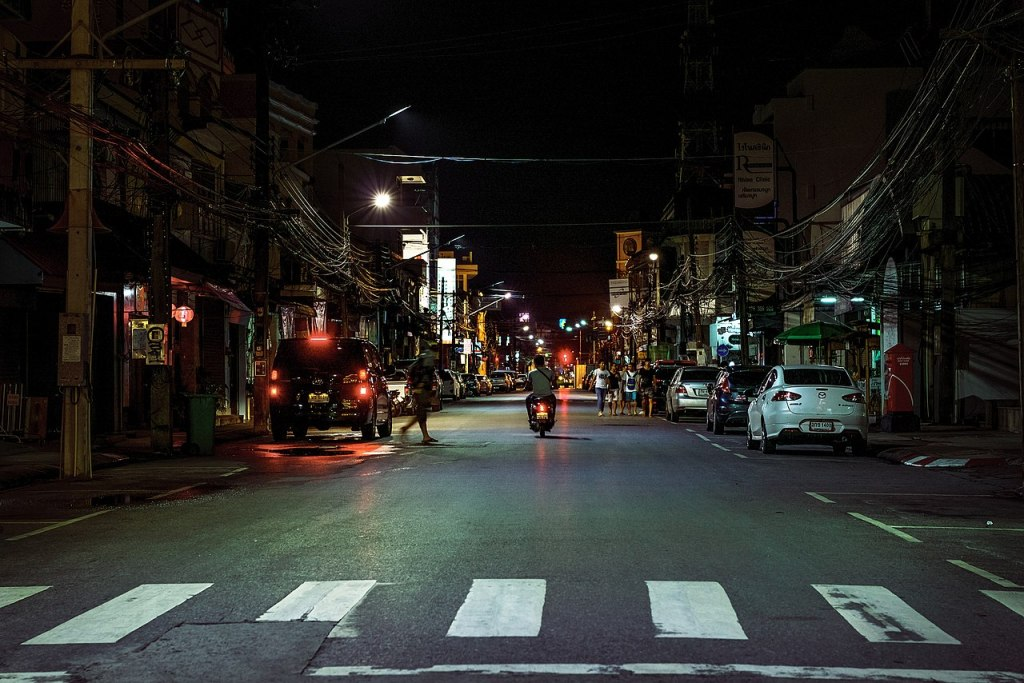 Street at night in Old Phuket Town