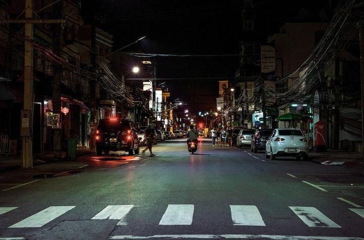 Street at night in Old Phuket Town