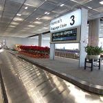 Baggage claim at Suvarnabhumi airport