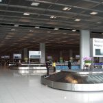 Baggage Claim at domestic terminal of Suvarnabhumi International Airport level 2, Bangkok