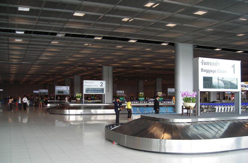 Baggage Claim at domestic terminal of Suvarnabhumi International Airport level 2, Bangkok