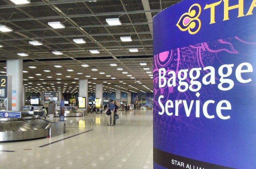 Baggage Claim at Suvarnabhumi Airport, Bangkok