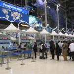 Immigration passport control at Suvarnabhumi Airport, Bangkok