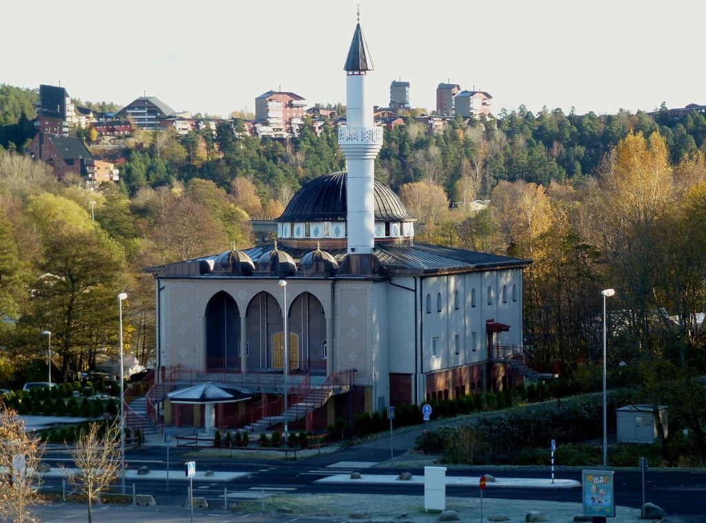 Fittja mosque in Sweden