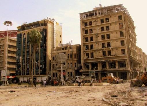 Saadallah al-Jabiri square in Aleppo