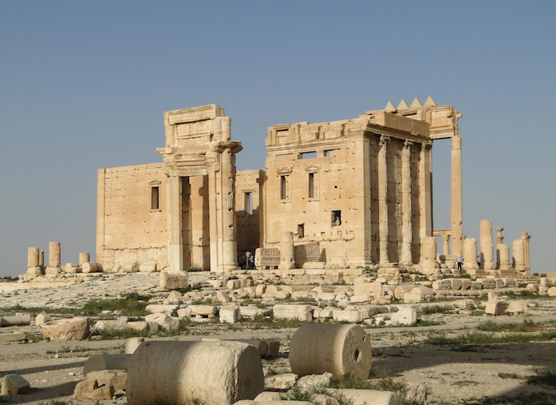 Temple of Bel in Palmyra, Syria