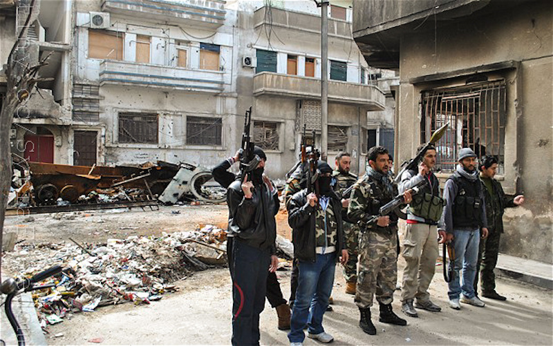 Islamic State captures two Russian servicemen near Deir ez-Zor: report