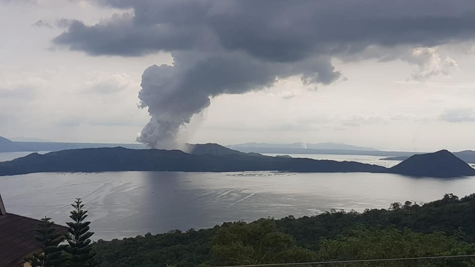 Eruption of Taal Volcano, 12 January 2020