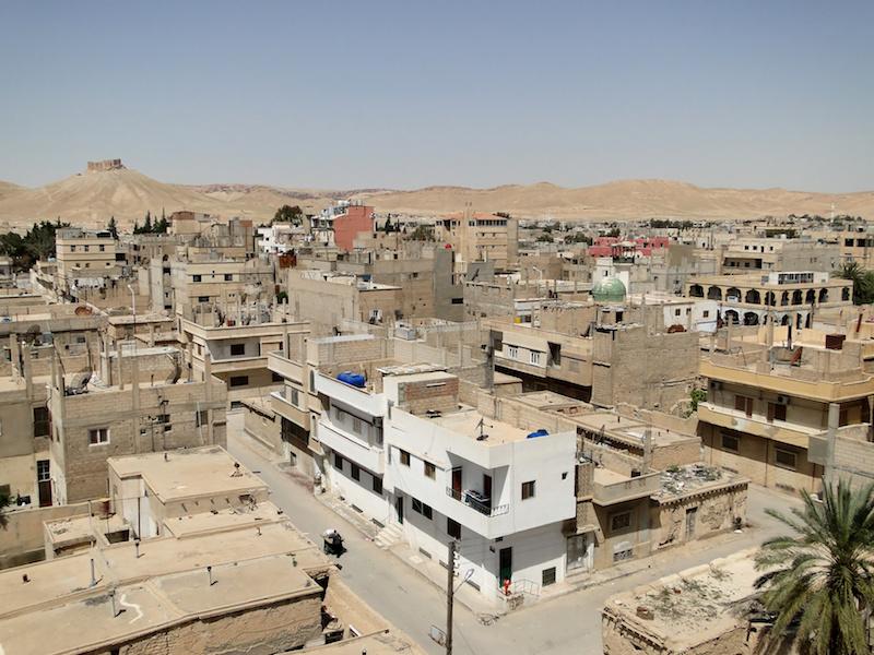 Tadmur town in Syria