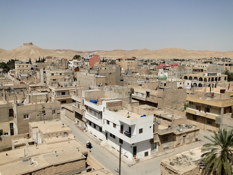 Tadmur town in Syria
